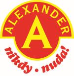 logo Alexander  - nikdy nuda!