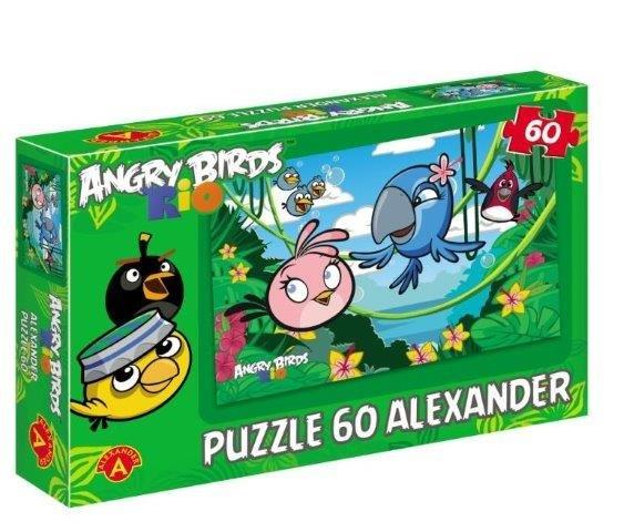 Angry Birds RIO - Puzzle 60 Voňavá džungle