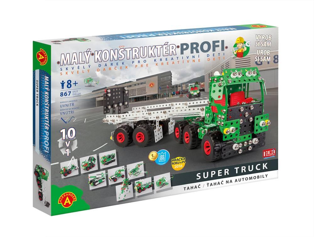 Malý konstruktér PROFI - Super Truck 10v1
