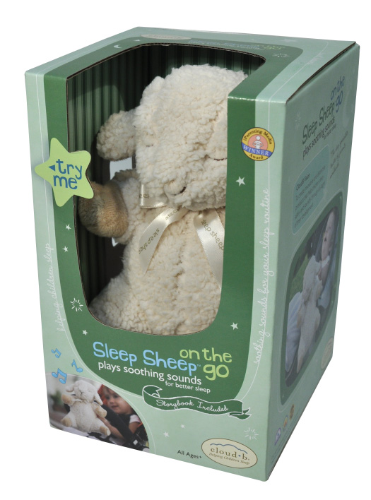 Spící Ovečka-na cesty (Sleep Sheep-on the go)
