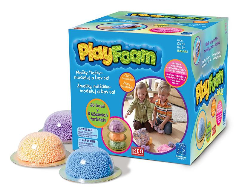 PlayFoam® Boule - 1ks; mix 8 barev