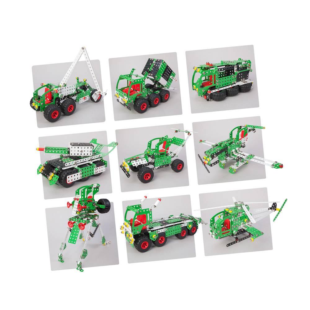 Malý konstruktér Super Truck - 9 modelů